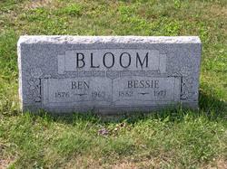 Bessie <i>James</i> Bloom
