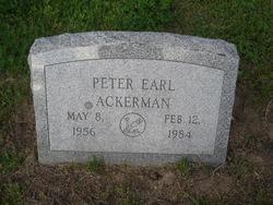 Peter Earl Ackerman