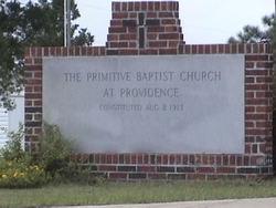 Providence Primitive Baptist Church Cemetery