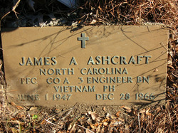 PFC James Arthur Ashcraft