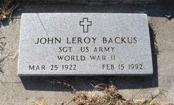 John Leroy Backus