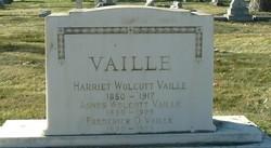 Harriett Agnes <i>Wolcott</i> Vaille