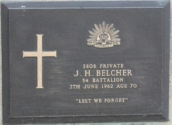 James H Belcher