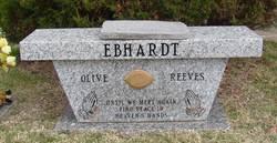 Olive <i>Reeves</i> Ebhardt