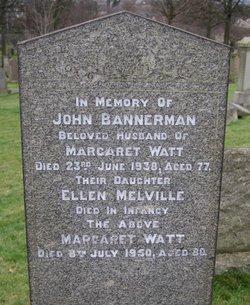 Margaret <i>Watt</i> Bannerman