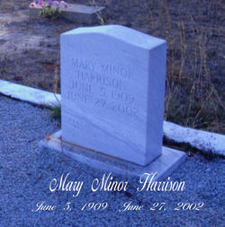 Mary <i>Minor</i> Harrison