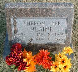 Theron Lee Blaine