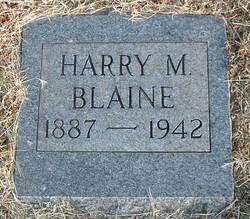 Harry Morton Blaine