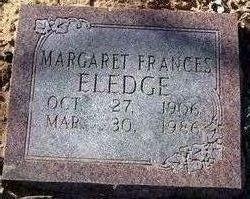 Margaret Frances Eledge