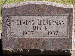 Gladys Elizabeth <i>Leenerman</i> Meyer