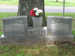 Rev Marvin Eldridge Presley