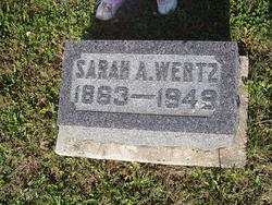 Sarah Arizona Nona <i>Stephens</i> Wertz