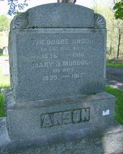 Mary J. <i>Murdock</i> Anson