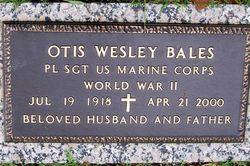 Otis Wesley Bales
