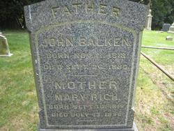 Mary <i>Rich</i> Balken