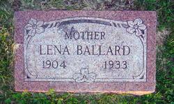Lena Martha <i>Snider</i> Ballard