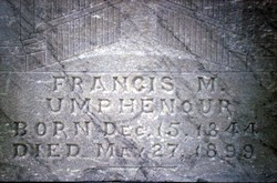 Francis Marion Umphenour