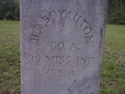 Harmon Robert Boyanton