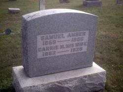 Caroline Mary Linder Carrie <i>Gurtner</i> Amber
