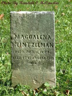 Magdalena <i>Wingert</i> Heintzelman