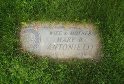 Mary R. <i>Bretz</i> Antonietti