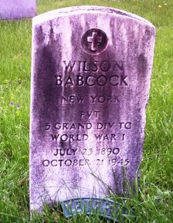 Wilson Babcock