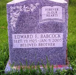 Edward E Babcock