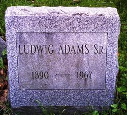 Ludwig Adams, Sr