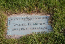 Walter H Brown