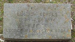 Lucinda Carolyn Rebecca <i>Echols</i> Bogan