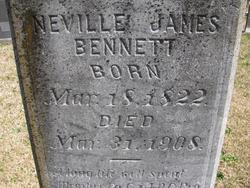 Pvt Neville James Bennett