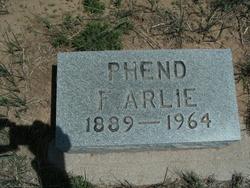 Franklin Arlington Arlie Phend