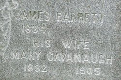 Mary <i>Cavanaugh</i> Barrett