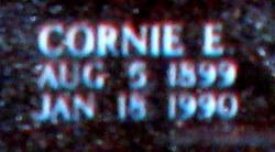Cornie <i>Loftice</i> Montgomery