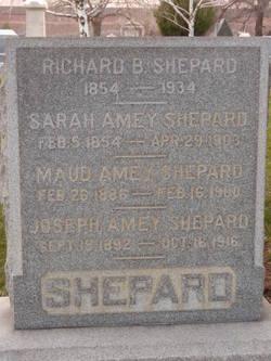 Sarah <i>Amey</i> Shepard