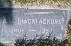 A. J. Jack Ackors
