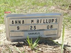 Anna M Billips