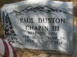 Paul Duston Chapin, III