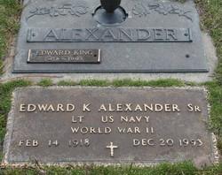 Edward King Alexander, Sr