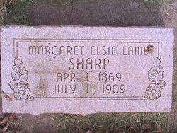 Margaret Elsie <i>Lamb</i> Sharp
