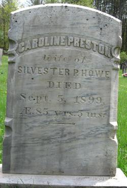 Caroline <i>Preston</i> Howe