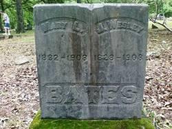 Mary Lucinda <i>Baker</i> Bates