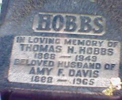 Sgt Leonard Davis Hobbs, Sr