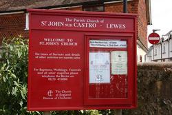 St John Sub Castro Churchyard
