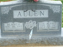 Blanche <i>Wright</i> Allen