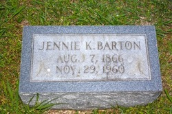 Virginia Jennie E. <i>Kirkpatrick</i> Barton