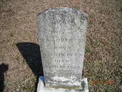 Louisa F.E. <i>Davis</i> Anderson