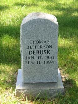 Thomas Jefferson Debusk