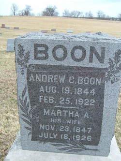 Martha <i>Brassfield</i> Boon