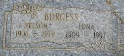 Edna Lucille <i>Graves</i> Burgess